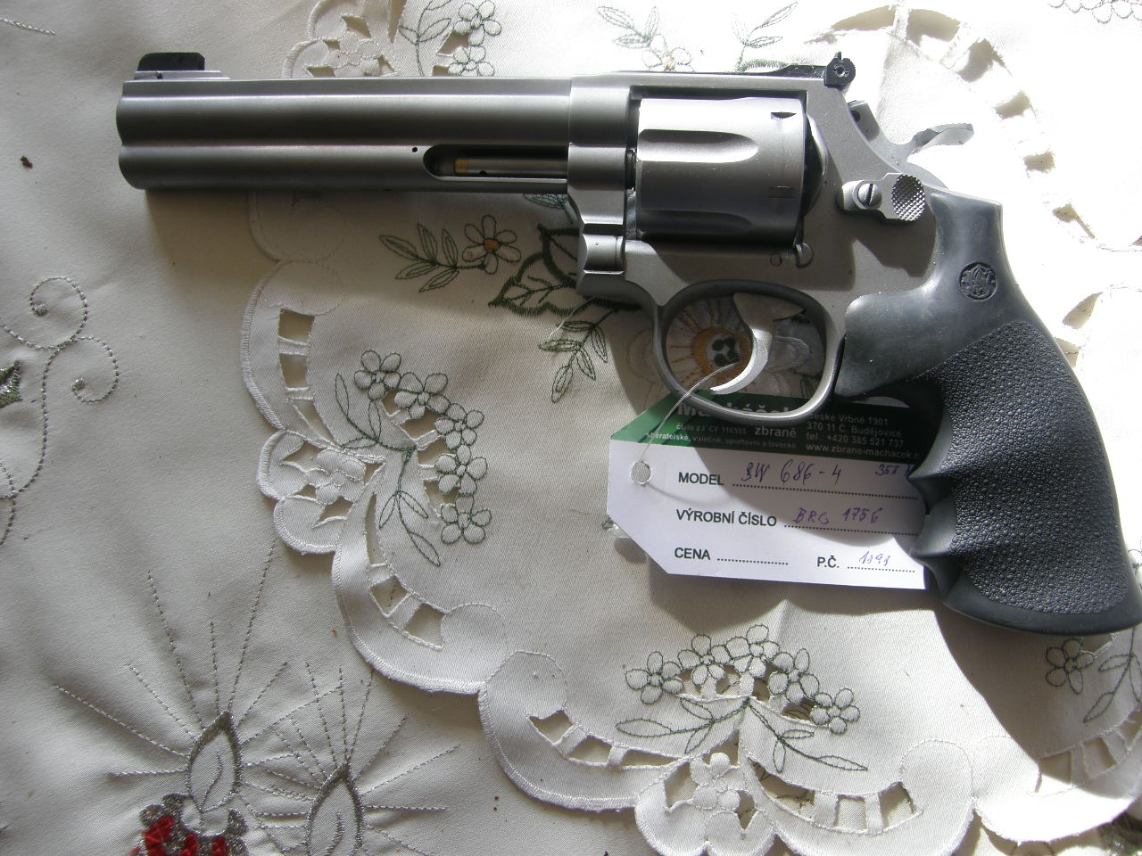 Revolver Smith Wesson Mod. 686-4 v.č.BRC 1756 r. 357 Mag.