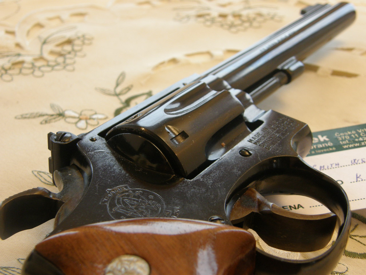 Revolver Smith Wesson Mod. 17 v.č. K702007 r. 22 Lr.