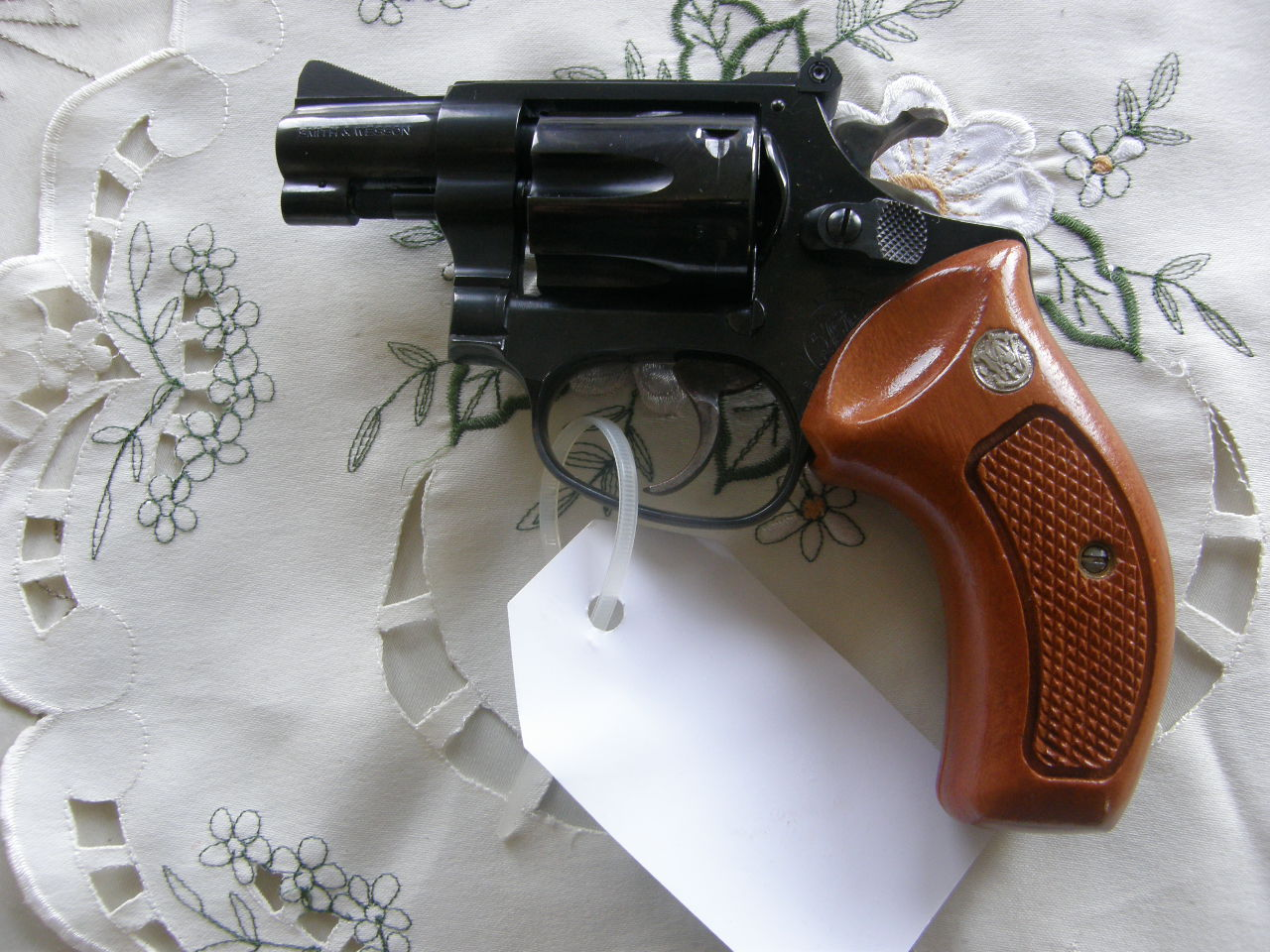 Revolver Smith Wesson Mod.34 v.č. BED 6891 r. 22 LR