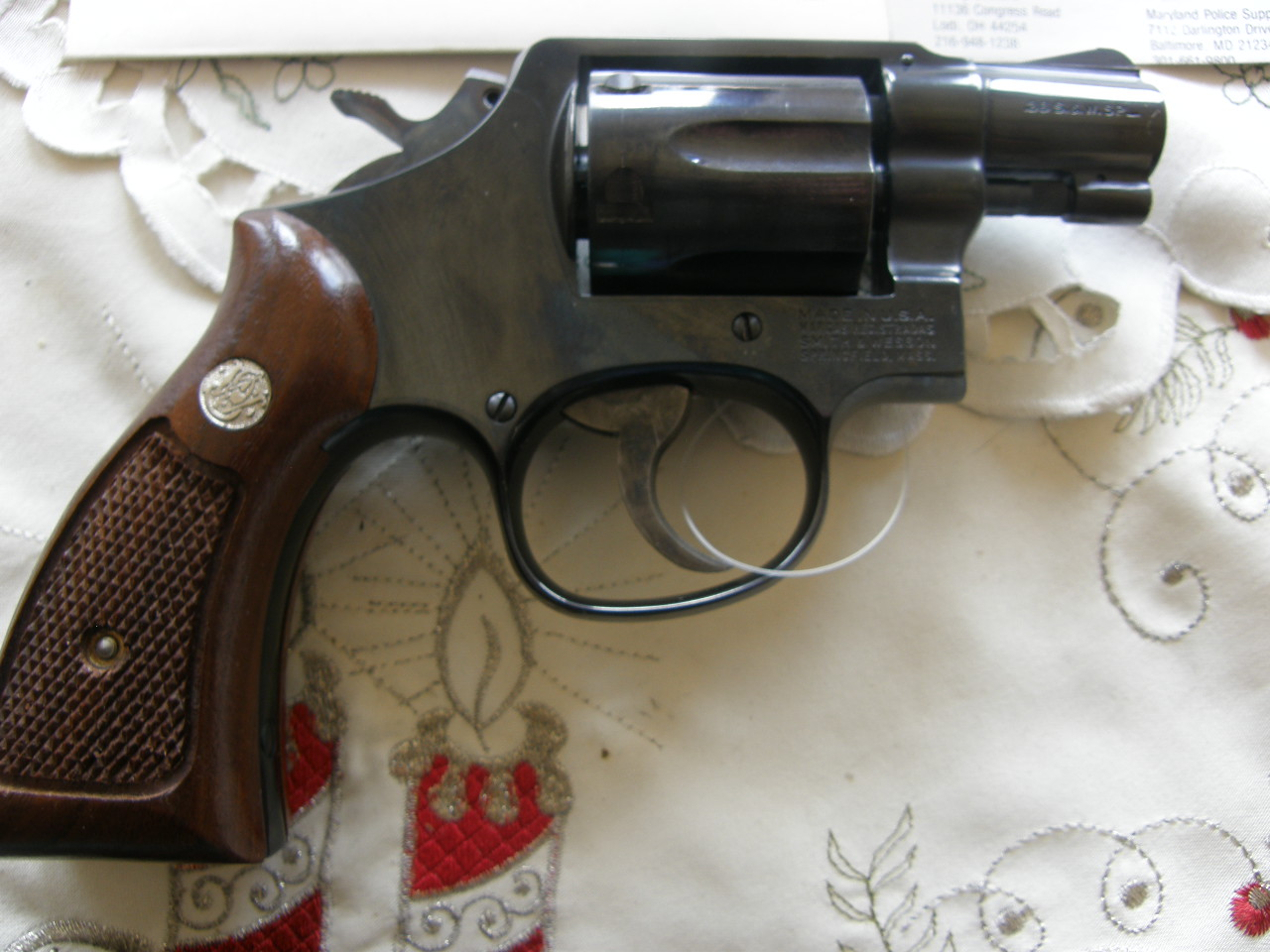 Revolver Smith Wesson Mod.36 v.č.8D75009 r.38 SP.