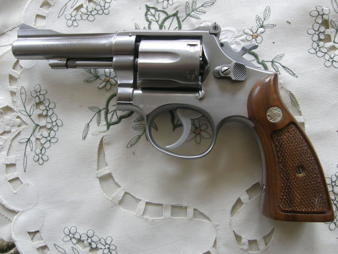 Revolver Smith Wesson Mod.67 r. 38 SP.v.č.3K 34126