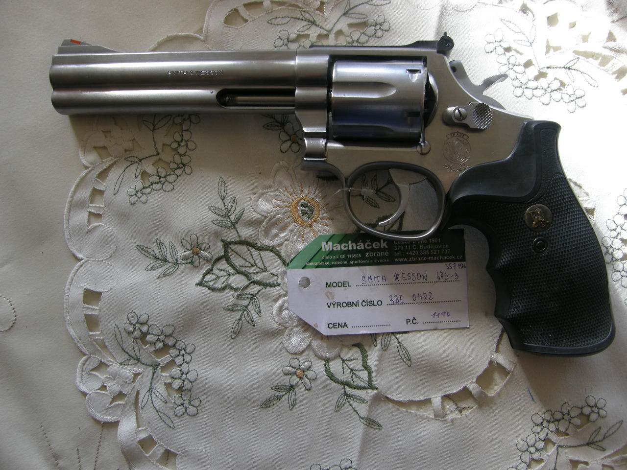 Revolver Smith Wesson Mod. 686-3 v.č.BBE 0842 r. 357 Mag.