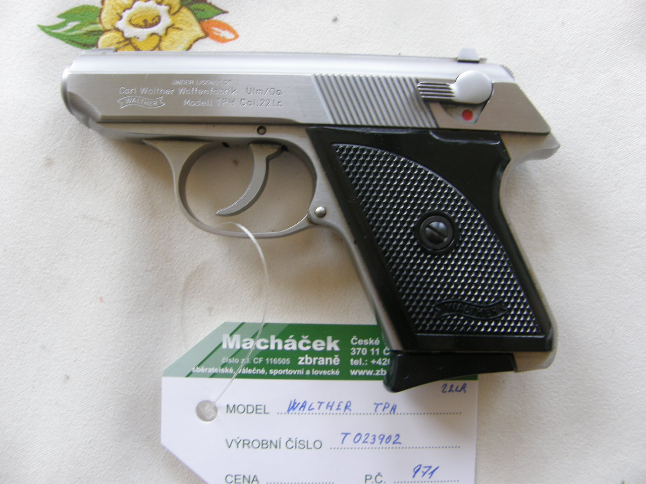 Walther TPH INTERARMS USA vč.T 023902 r. 22 Lr.