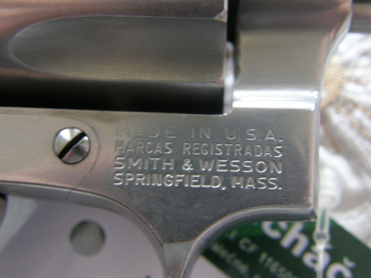 Revolver Smith Wesson Mod. 60 v.č.R 138107 r.38 Sp.